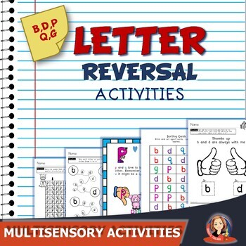 Letter Reversals and Alphabet Practice Mega Bundle
