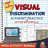 Letter Reversal Activities Mega Bundle Distance Learning