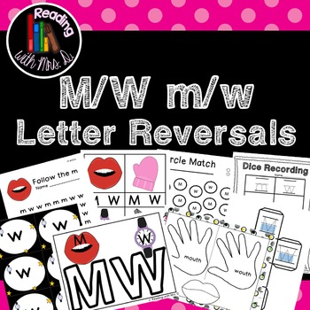 Letter Reversals M W m w
