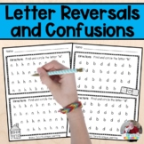 Letter Reversals and Confusions