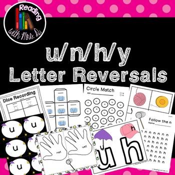 Letter Reversals u n h y