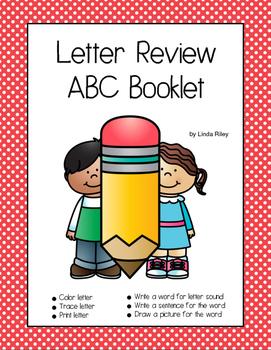 Letter Review ABC Booklet