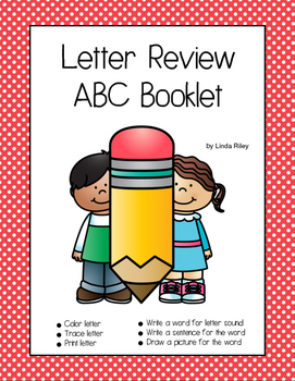 Letter Review ABC Booklet