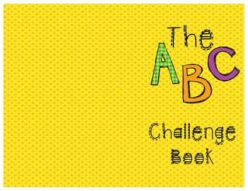 Letter Review - ABC Challenge