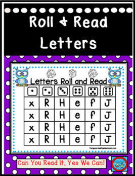 Letter Roll and Read Bundle