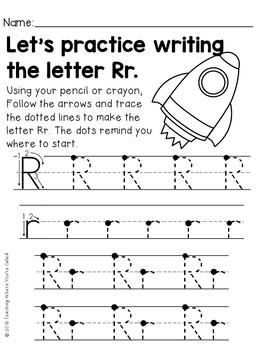 Letter Rr Activity Pack