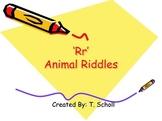 Letter Rr Animal Riddles PowerPoint Slideshow