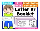 Letter Rr Booklet- Predictable Sentences