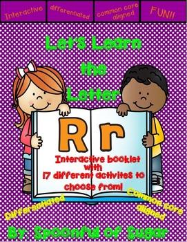 Letter Rr- Interactive Activities Booklet
