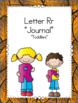 Letter Rr Journals for Toddlers