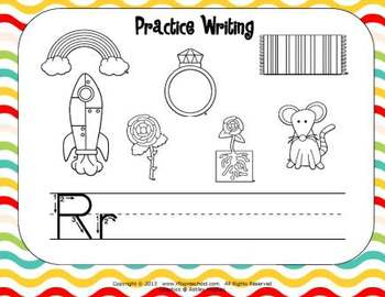 Letter Rr Language & Literacy Activity Center {COMMON CORE ALIGNED}
