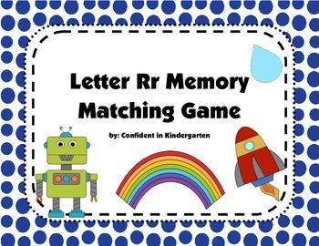 Letter Rr Memory Game