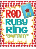Letter Rr-Red Ruby Ring Craftivity