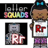 Letter Rr Squad: DAILY Letter of the Week Digital Alphabet