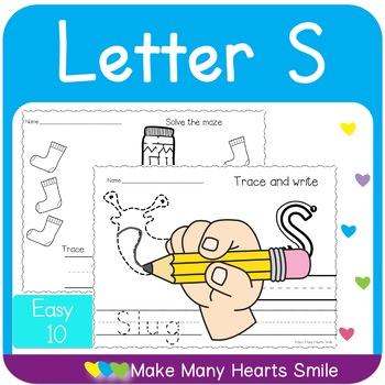 Easy 10: Letter S