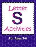 Letter S Activities- 46 Pages! {Common Core}