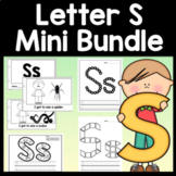 Letter S Activities {Letter S Book and 5 Letter S Worksheets!}