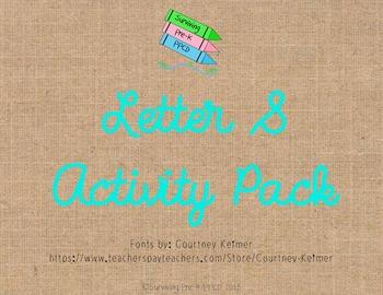 Letter S Activity Pack
