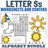 Letter S Activity and Center Packet