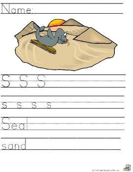 Letter S  Alliteration Set