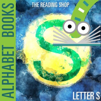 Letter S Alphabet Book - Helps Students Learn Letters and Sounds - ABC Book