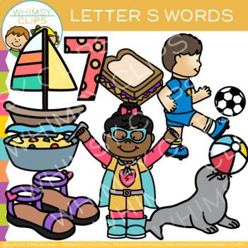 Letter S Alphabet Clip Art