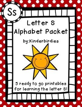 Letter S Alphabet Packet