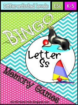 Letter S Bingo