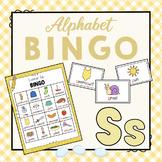 Letter S Bingo Game
