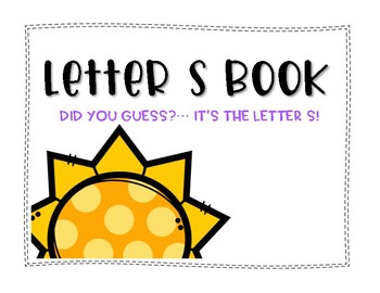 Letter S Book: Handwriting Practice