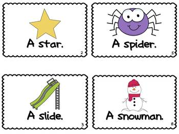 Letter S Book of Beginning Sounds-Emergent Reader w/Running Record-CCSS Aligned
