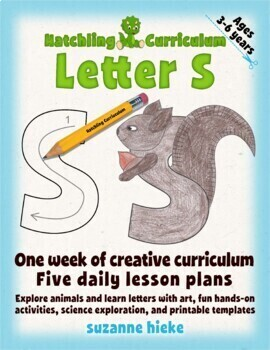 Letter S Bundle: 1 Week Of Complete Curriculum Lessons