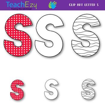 Letter S Clip Art Pack