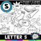 Letter S Clipart - 22 images! Personal or Commercial use