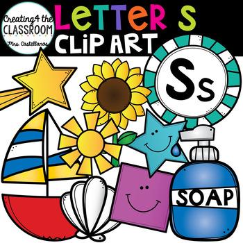 Letter S Clipart {Alphabet Clip art}