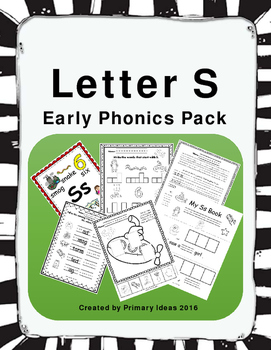 Letter S: Early Phonics Pack