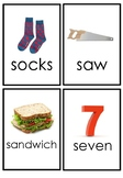 Letter S Flashcards