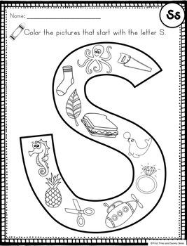 Letter S - Letter of the Week S - Letter of the Day S
