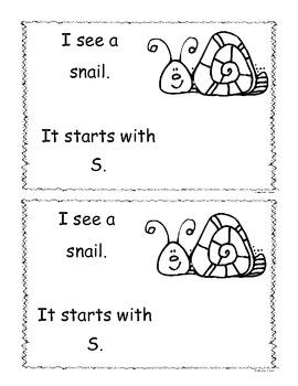 Letter S Little Reader/Book