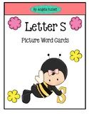 Letter S - Picture Word Cards