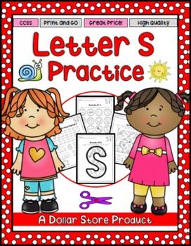 Letter S Practice Printables