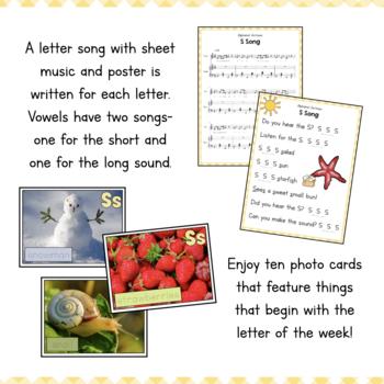 Letter S Preschool Letter of the Week Unit