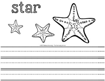 Letter S is for Star