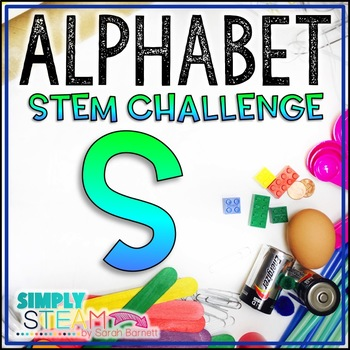 Letter S STEM Challenge | Letter S Activities