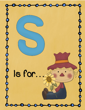 Letter S Story and Writing Practice