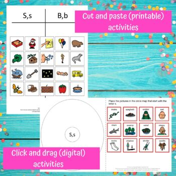 Letter of the Week Letter S Unit for Special Education