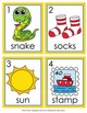 Letter S Words Write the Room Activity