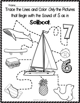 Letter of the Week:  Letter S Workbook (PreK & Kindergarten)