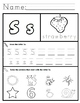 Letter S Worksheets!