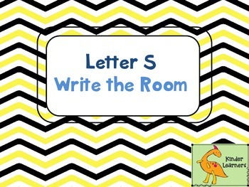 Write the Room Letter S